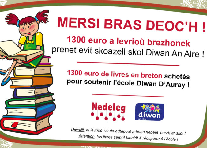 Mersi bras deoc'h, livres en breton.
